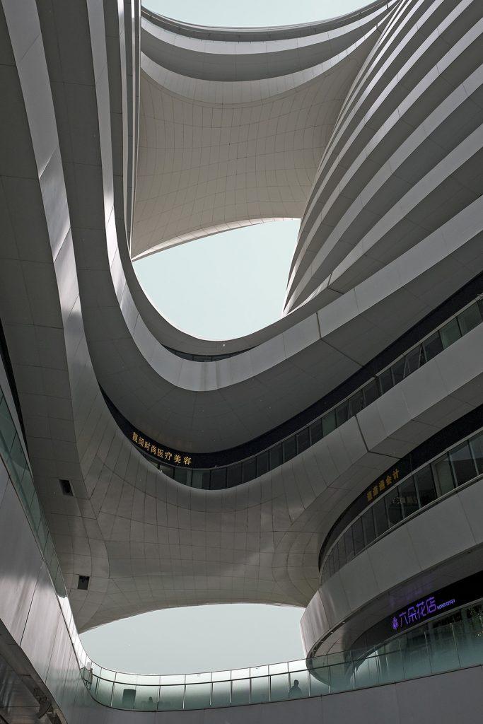 Stadterkundung Bejing, Zaha Hadid, Galaxy Soho