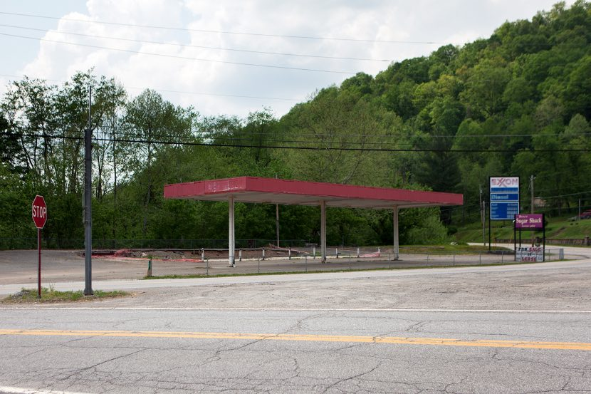 Stadterkundung, Arnoldsburg, West Virginia, USA