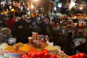 Kutaissi: Lauschiger Markt