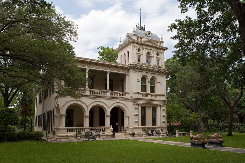 Stadterkundung, King William District, San Antonio, Texas, USA