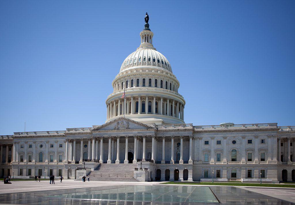 Das Capitol von Westen