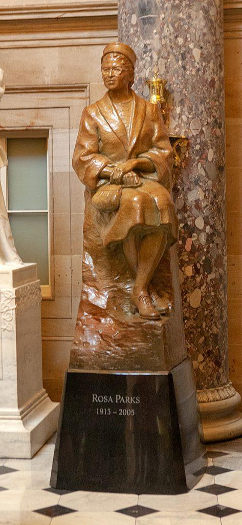 Statue von Rosa Parks