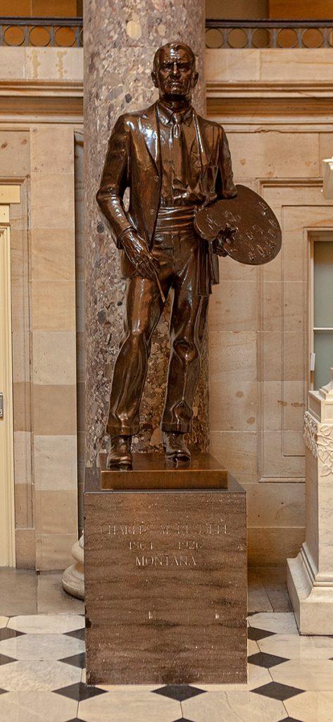 Statue von Charles M. Russel