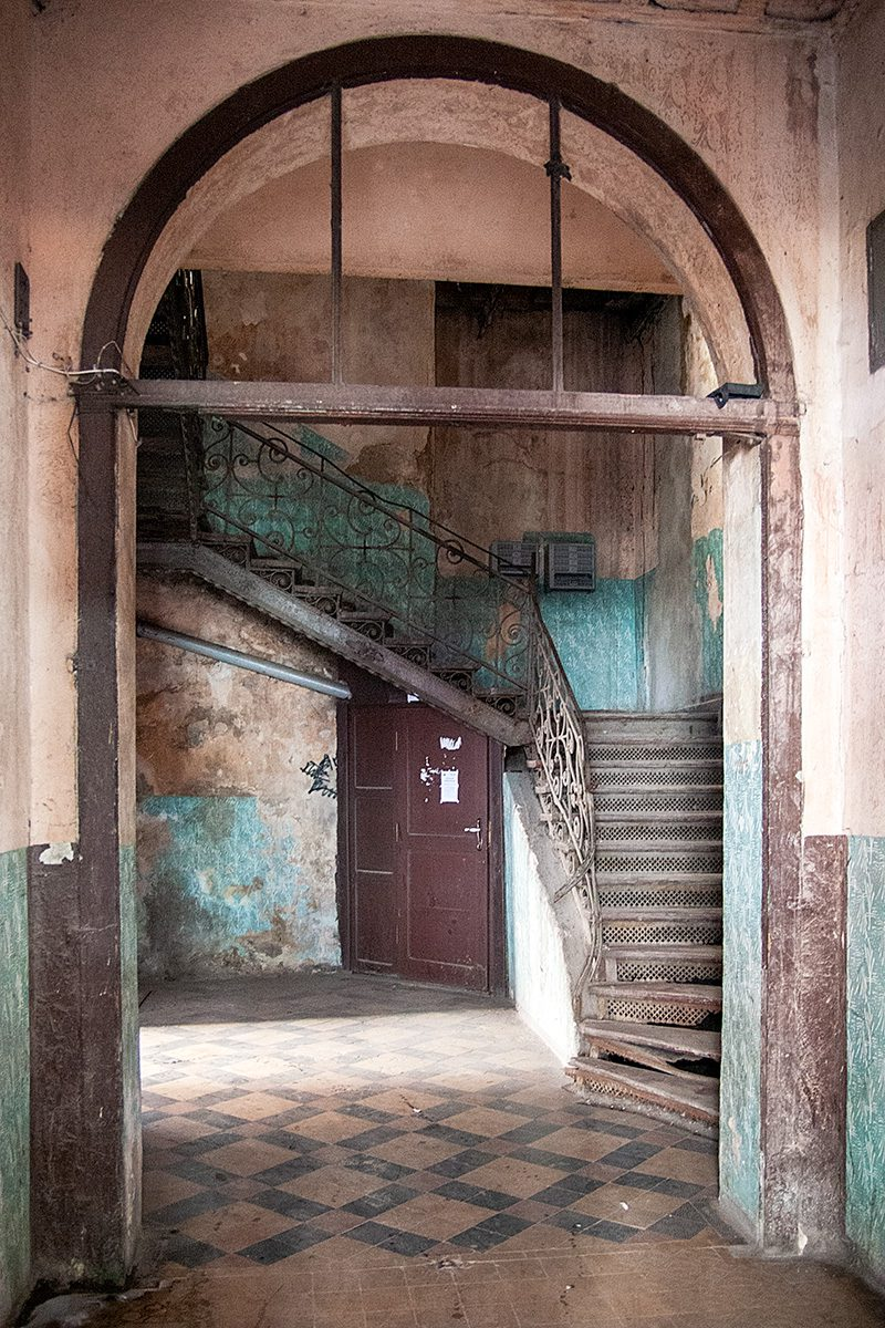 Hausflur mit Treppe