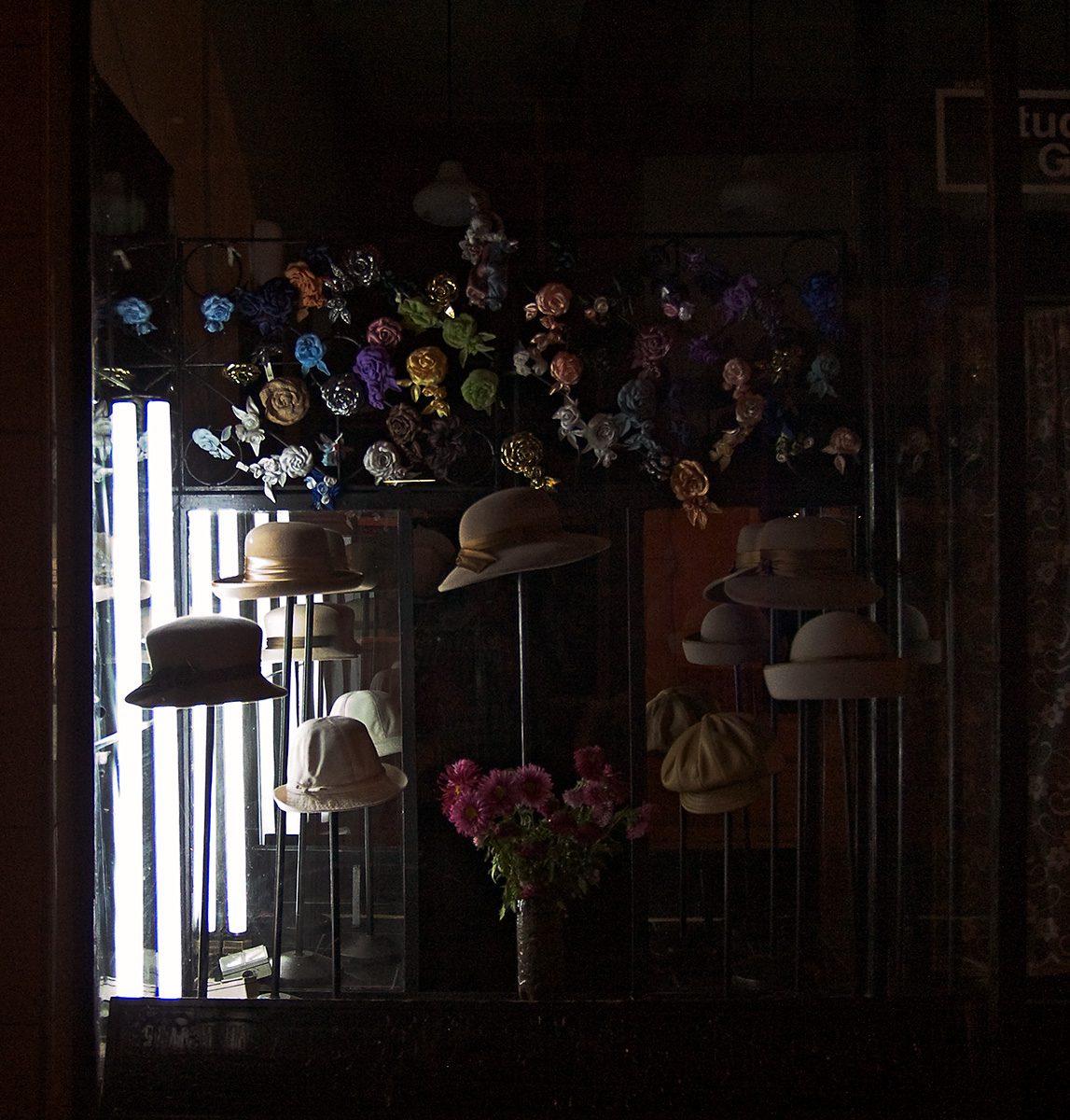 Hutladen Schaufenster