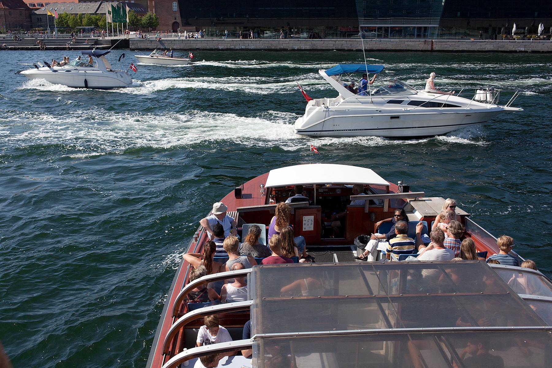 Boote auf dem Fluss