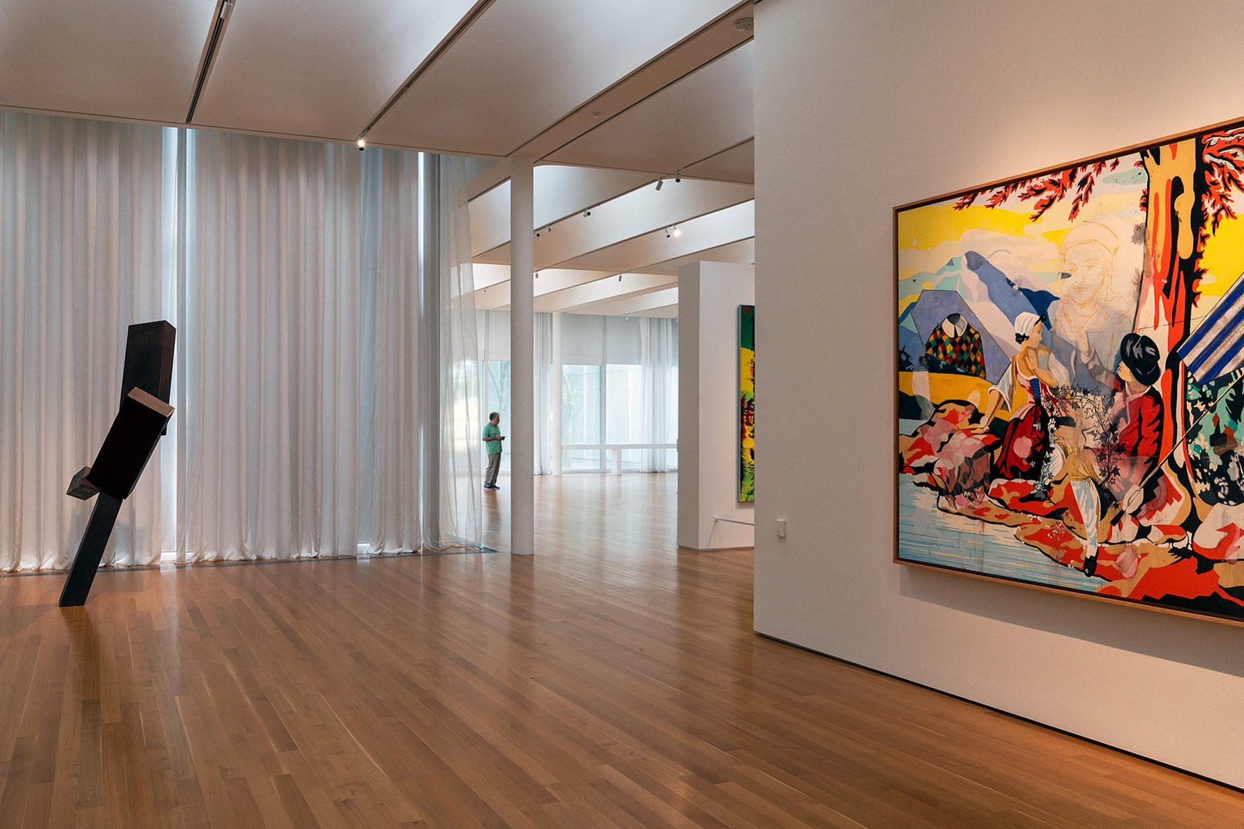 Blickachse im Raleigh Art Museum