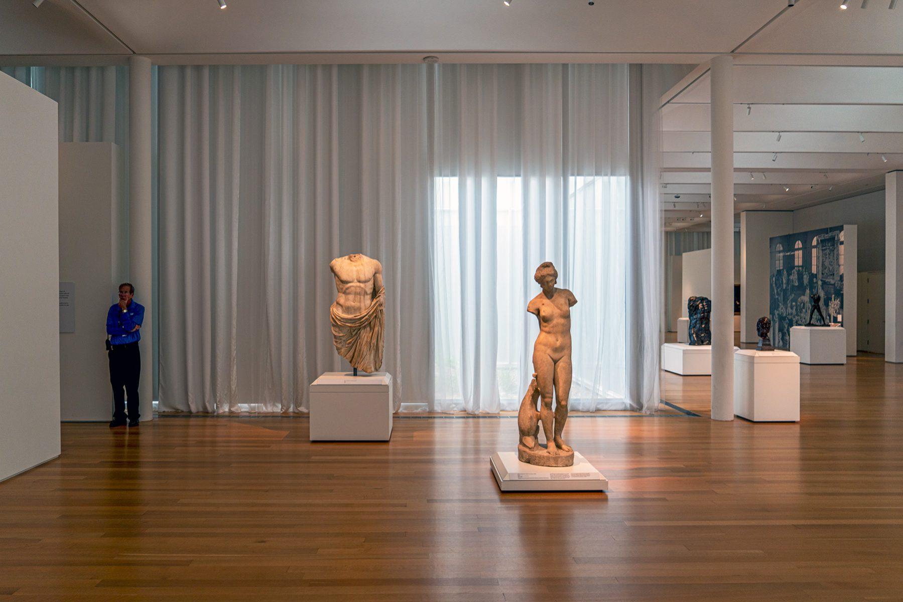 Skulpturen im Museum im Raleigh Art Museum