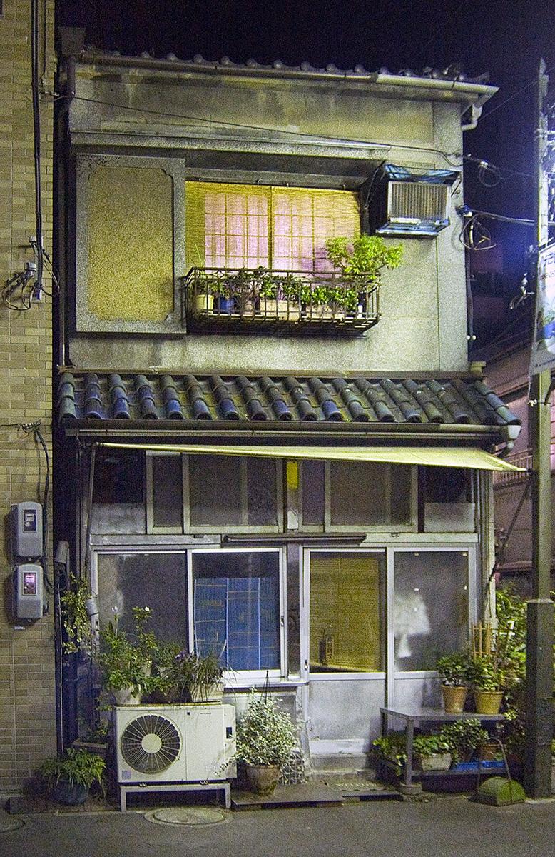 Altes Haus im Beitrag Tokio: Urbanes Kleinod auf der Seite Stadterkundung.com