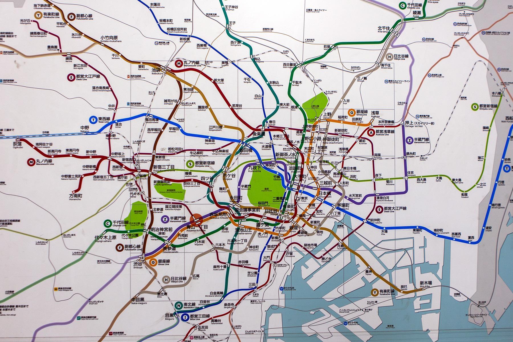 U-Ban Plan von Tokio