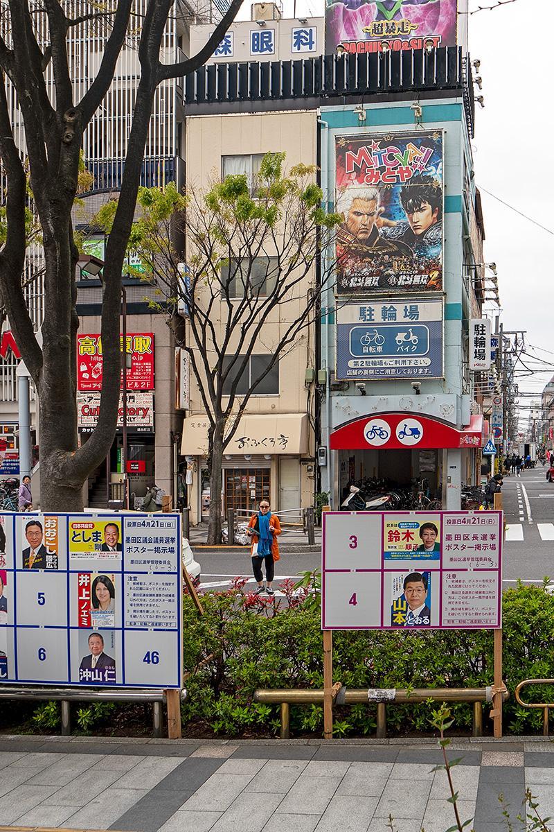 Wahlplakate im Beitrag Tokio: Einheitliche Wahl