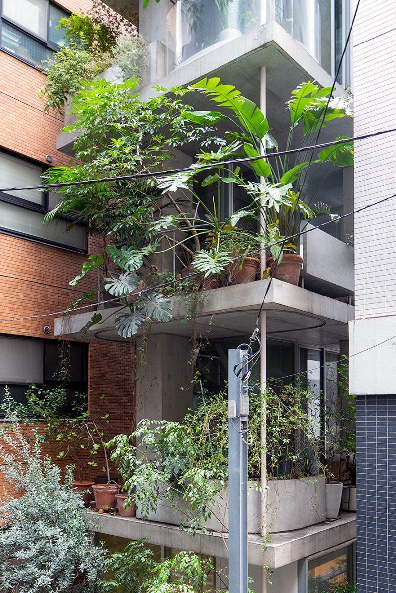 """Blick auf das """"Garden & House"""" von Ryue Nishizawaim Beitrag Tokio: Gebauter Zeitgeist auf Stadterkundung.com"""